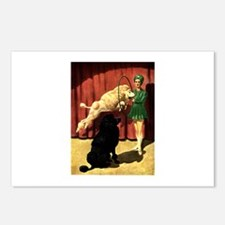 Circus Dogs Postcards (Package of 8)
