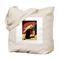 Circus Dogs Tote Bag