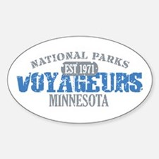 Voyageurs Park Minnesota Decal