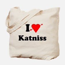 I Heart Love Katniss Tote Bag