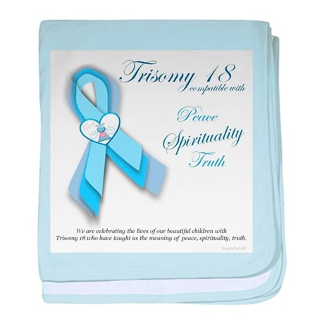 T18 Truth, Spirituality and Truth baby blanket
