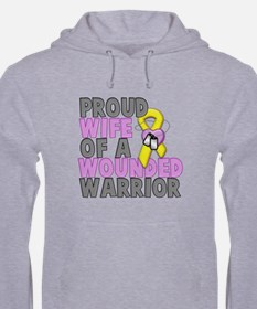Wounded Warrior Wife Hoodie