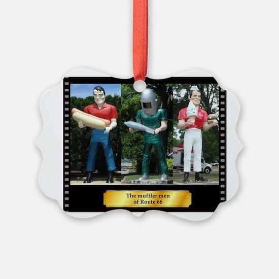 The Muffler Men Ornament