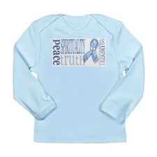 T18 Staight Design Long Sleeve Infant T-Shirt