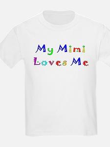 My Mimi Loves Me! (Multi) Kids T-Shirt