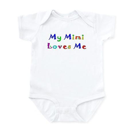 My Mimi Loves Me! (Multi) Infant Creeper
