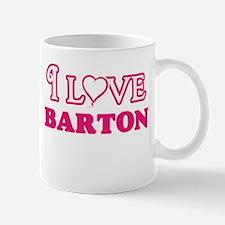 I Love Barton Mugs