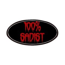 100% Sadist Patches