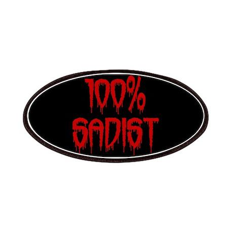 100% Sadist Patches