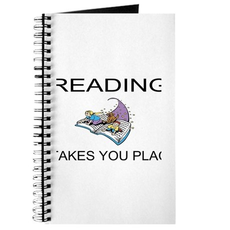 Reading Takes You Places Journal