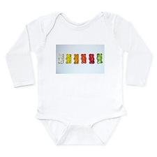 Sweets Long Sleeve Infant Bodysuit