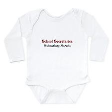 School Sec. Multitasking Marvels Onesie Romper Suit