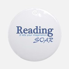 Reading Imagination Ornament (Round)