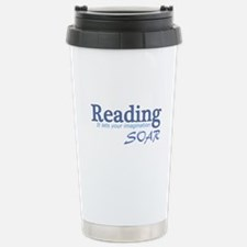 Reading Imagination Stainless Steel Travel Mug