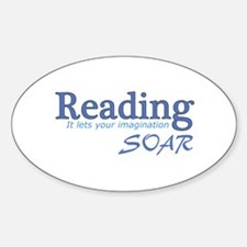 Reading Imagination Decal
