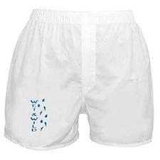 Wet and Wild Rabbit Boxer Shorts