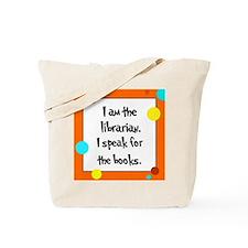 Librarian Seuss Lorax Tote Bag