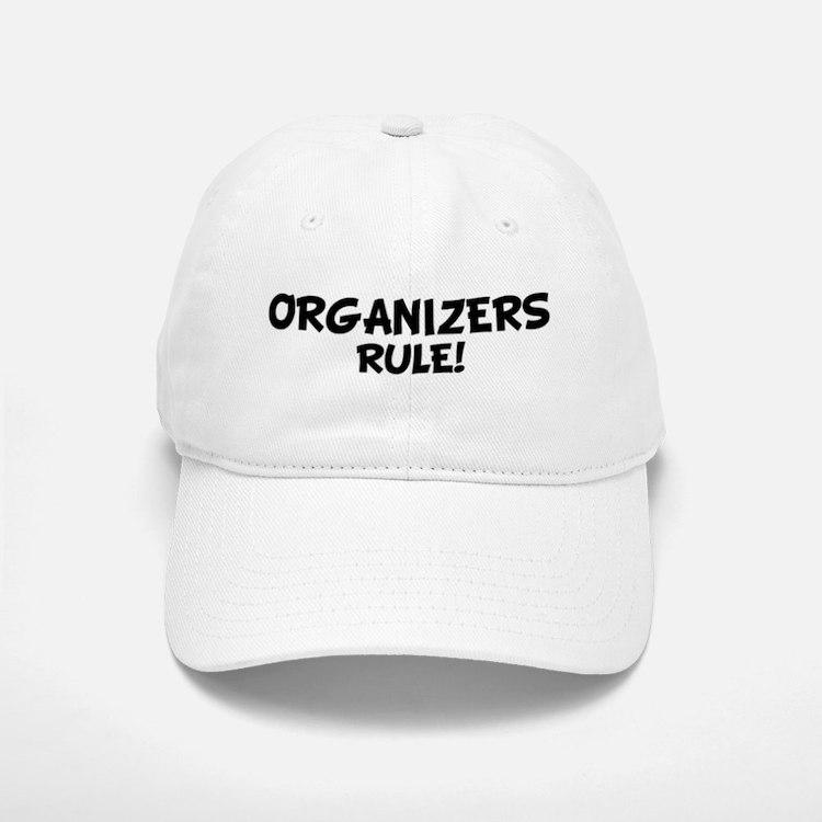 ORGANIZERS Rule! Baseball Baseball Cap