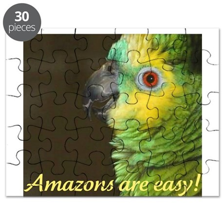 Amazons are easy! Puzzle
