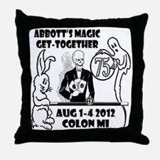 Spooky 75th Home Products Throw Pillow