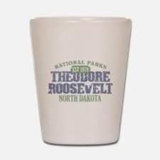 Theodore Roosevelt Park ND Shot Glass