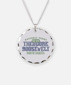 Theodore Roosevelt Park ND Necklace