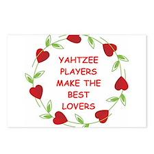 yahtzee Postcards (Package of 8)