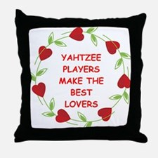yahtzee Throw Pillow