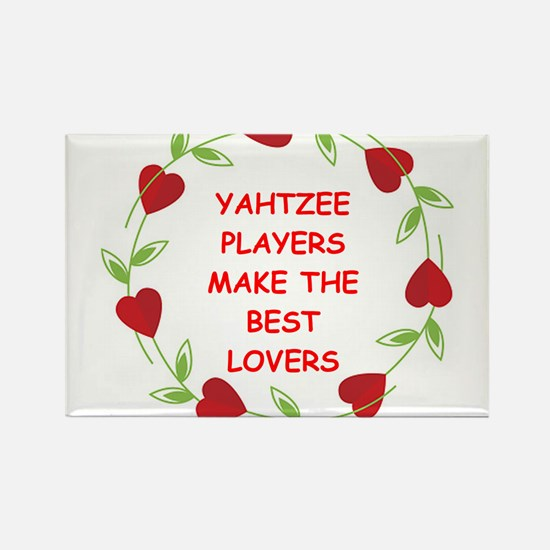 yahtzee Rectangle Magnet (100 pack)