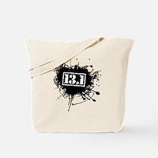 Half Marathon Paint Tote Bag