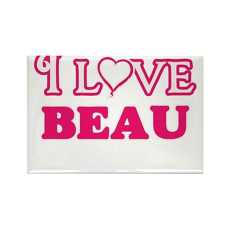 I Love Beau Magnets