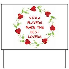 viola Yard Sign
