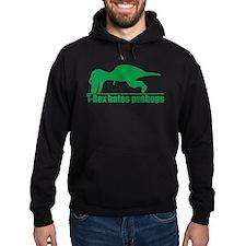 T-rex Humorous Hoodie