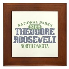 Theodore Roosevelt Park ND Framed Tile