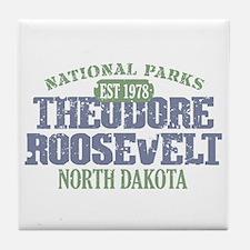 Theodore Roosevelt Park ND Tile Coaster