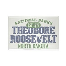 Theodore Roosevelt Park ND Rectangle Magnet (10 pa