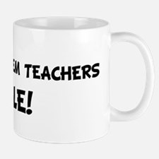 METRIC SYSTEM TEACHERS Rule! Mug