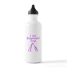 Purple Downward Dog Water Bottle