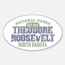 Theodore Roosevelt Park ND Decal