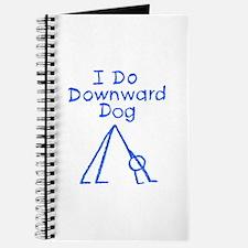 Blue Downward Dog Journal