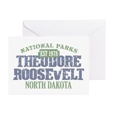 Theodore Roosevelt Park ND Greeting Cards (Pk of 2