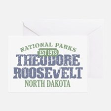 Theodore Roosevelt Park ND Greeting Card