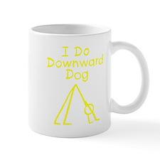 Yellow Downward Dog Mug