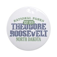 Theodore Roosevelt Park ND Ornament (Round)