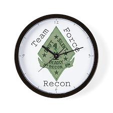 Unique Force recon Wall Clock