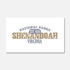 Shenandoah National Park VA Car Magnet 20 x 12