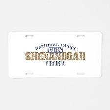 Shenandoah National Park VA Aluminum License Plate
