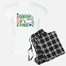 Live Green Montage Pajamas