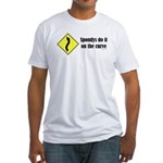 Spondys on the Curve Fitted T-Shirt