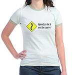 Spondys on the Curve Jr. Ringer T-Shirt